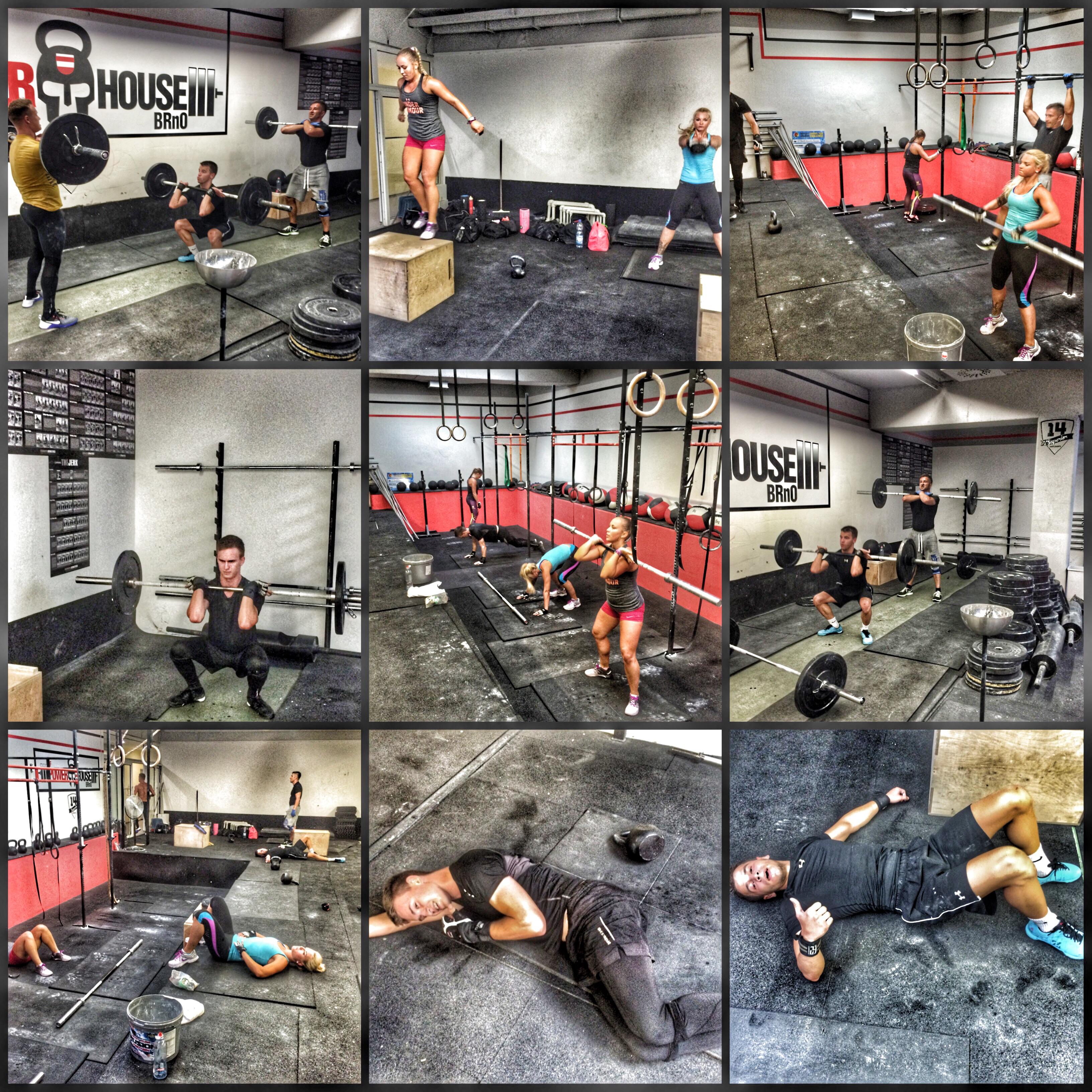 Filip Trojovsky -CrossFit– TRAINING – 11.08.15 snatch morning + athletic 2