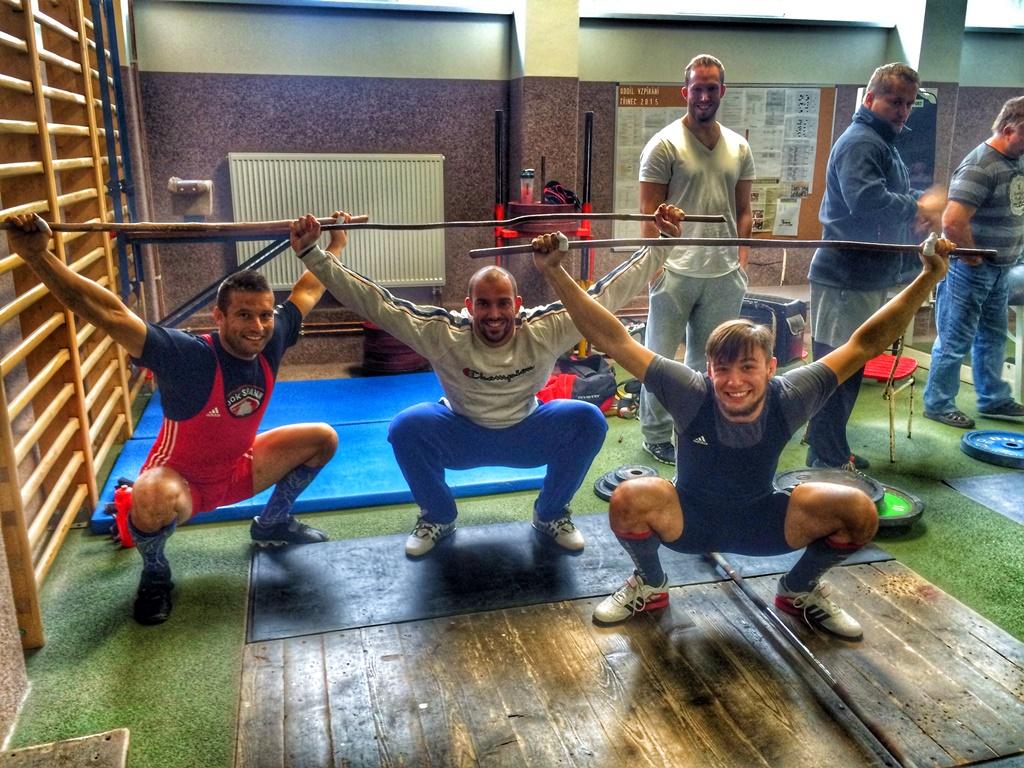 CrossFit DESTINY Brno - Filip Trojovsky - Czech Olympic weightlifting challange last part of II. men's League A