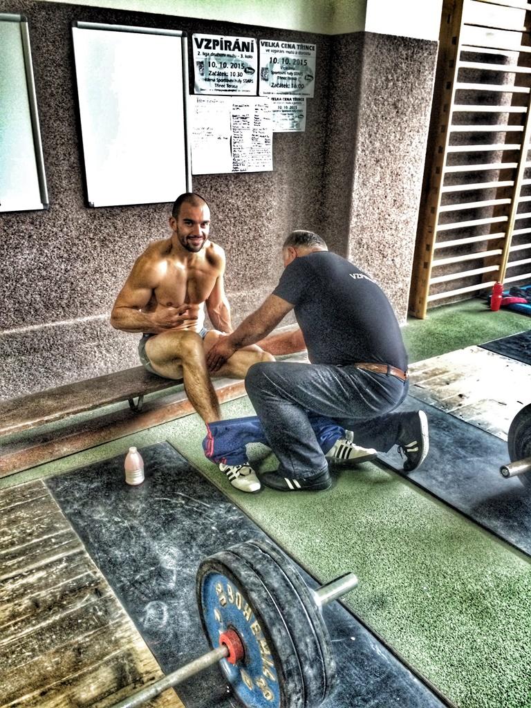 CrossFit DESTINY Brno - Filip Trojovsky - Czech Olympic weightlifting challange last part of II. men's League B