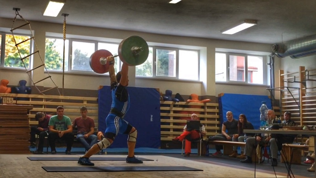 CrossFit DESTINY – Brno - Filip Trojovsky - Czech Olympic weightlifting challange last part of II. men's League - C&J 145 kg