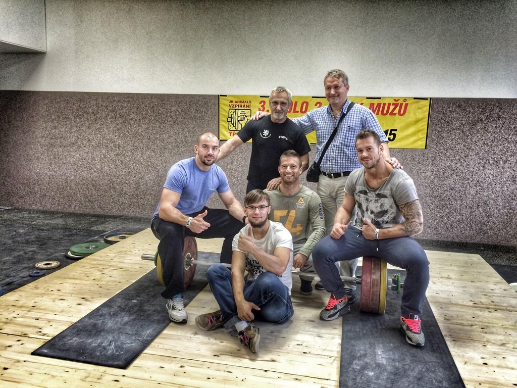 CrossFit DESTINY Brno - Filip Trojovsky - Czech Olympic weightlifting challange last part of II. men's League C