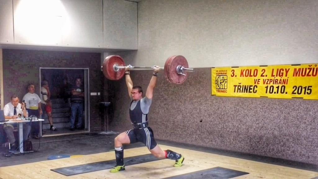 CrossFit DESTINY – Brno - Martin Okurek - Czech Olympic weightlifting challange last part of II. men's League