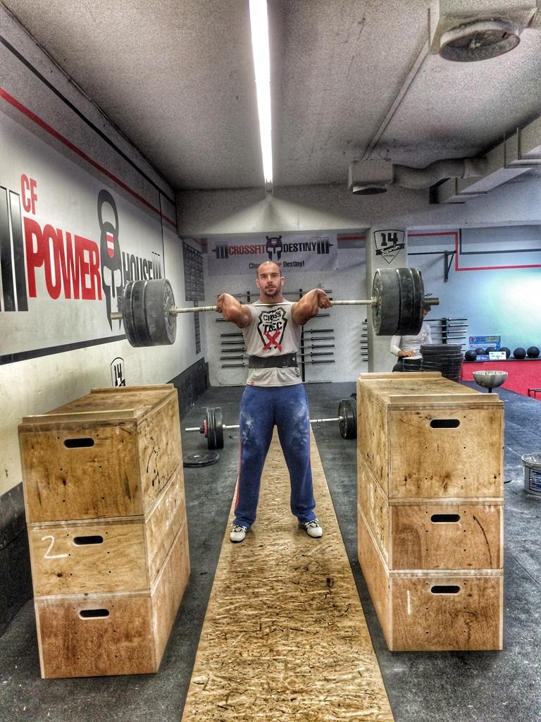 CrossFit DESTINY – Brno – Filip Trojovsky- 8.10.15-Olympic weightliftin